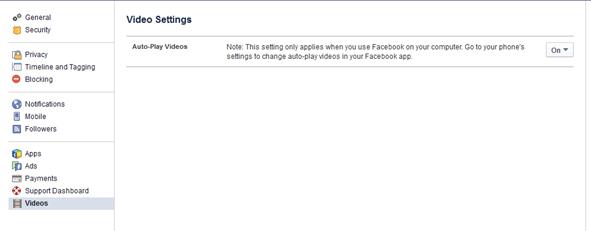 Sådan stopper du autoplay af Facebook videoer